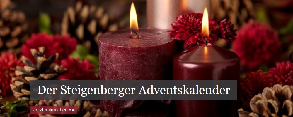 steigenberger adventskalender 2017 advent weihnachten christmas 2019