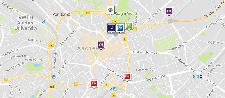 Hotelbuchung Aachen