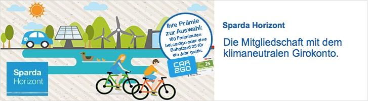 Sparda Horizont: Prämie DB BahnCard 25