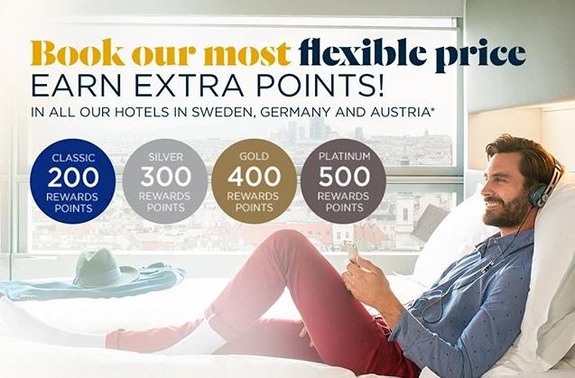 AccorHotels: Bis zu 500 Bonus-Punkte (=10 Euro)