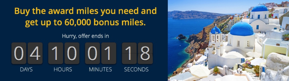 United Airlines MileagePlus – Flash Sale: Meilen mit 67 % Bonus kaufen