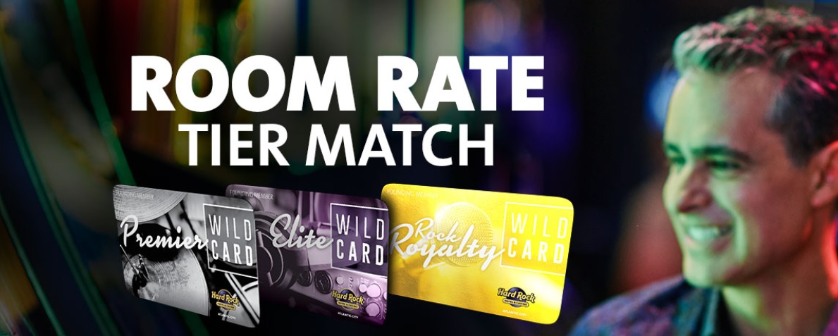 Status Match Hyatt – Rock Star Rewards + kostenfreie Nacht in Atlantic City