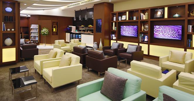 Etihad verkauft Zutritt zur Arrivals Lounge in Abu Dhabi AUH Etihad Guest economy business first class