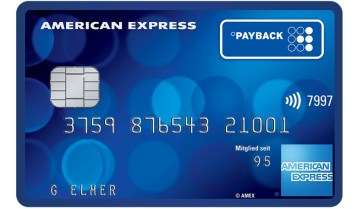payback american express karte kreditkarte card amex