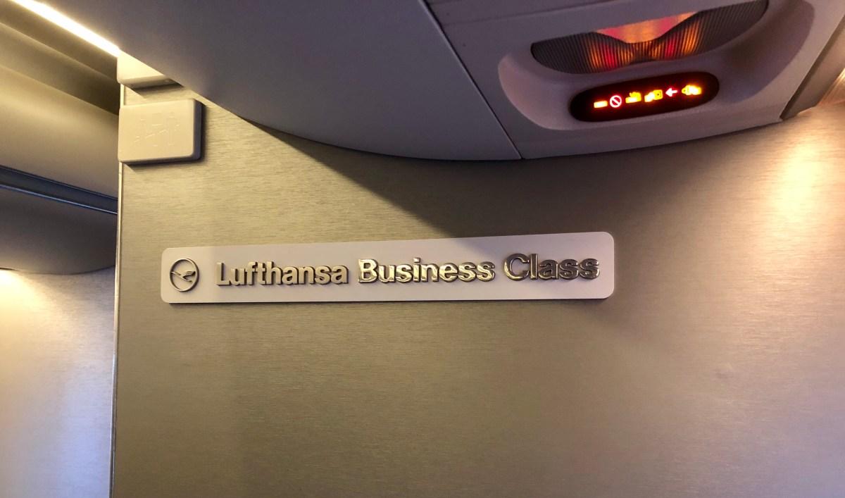 Lufthansa Business Class CRJ-900 Münster – München: Bewertung