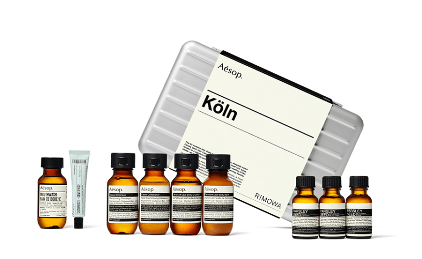 Aesop + RIMOWA: Köln Travel Kit