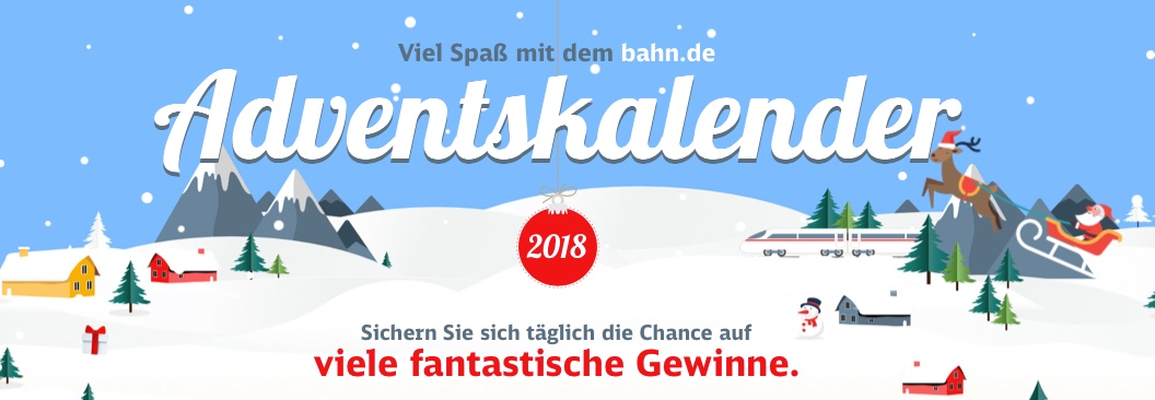 Bahn Adventskalender 2018