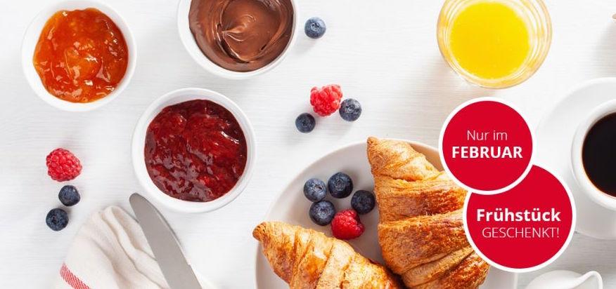 Schöner Zug: IntercityHotel mit Frühstück inklusive