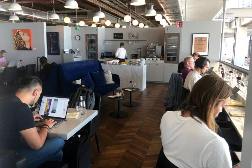 Review American Express Centurion Lounge by Pontus Stockholm Arlanda ARN amex lounge platinum erfahrung
