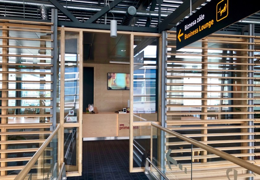 Riga Primeclass Business Lounge RIX priority pass airbaltic lufthansa eingang entry