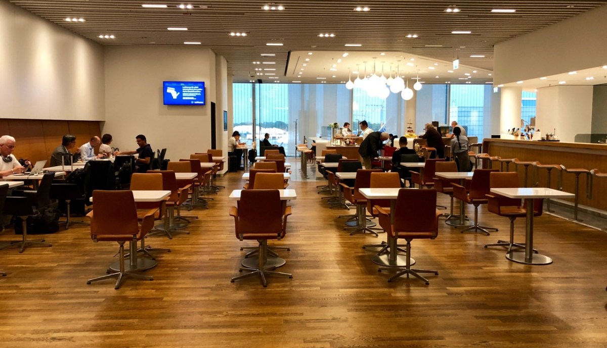 Lufthansa SEN Senator Lounge München: Bewertung