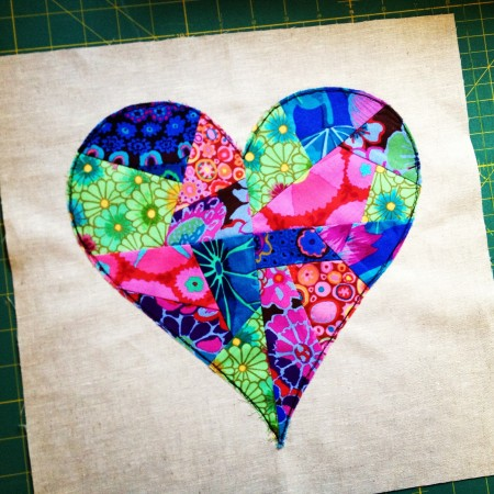 riley blake mystery quilt february block