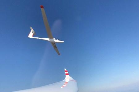 Das Trainingslager 2017 der Bw Flugsport-vereinigung in den französischen Seealpen