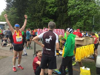 Laager Athlet finisht  den Supermarathon