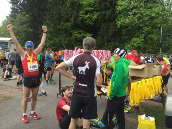 Laager Athlet finisht  den Supermarathon