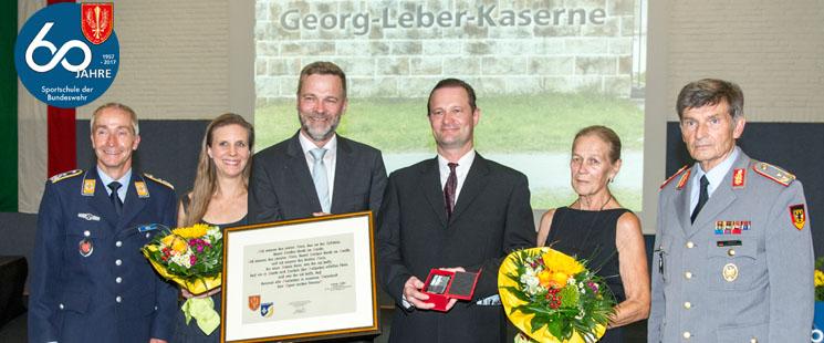 60 Jahre – Sportschule der Bundeswehr – jetzt in der Georg-Leber-Kaserne!