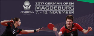 GERMAN OPEN in Magdeburg vom 07.-12. November
