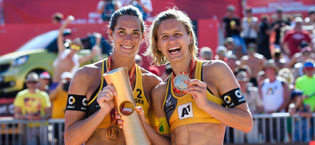 WM im Beachvolleyball in Wien – Laura Ludwig & Kira Walkenhorst sind WELTMEISTER