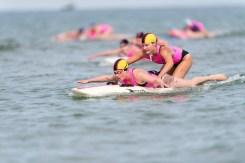 Board Rescue Race der Frauen.