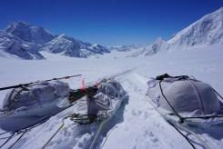 Spurkommando und Rast am Ski Hill.