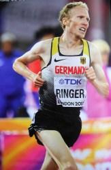 Richard Ringer, bei ISTAF ein knallharter Ausdauerkämpfer: Über 5.000 m in 13:13,46 min Fünfter im Kenia-dominierten Weltklassefeld.