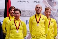 Zusammen mit Hanna Philippin reichte es am Ende auch in der Mixed-Team-Wertung zu Gold.