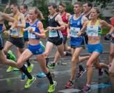 Mit der richtigen Gefühlsdosis ins Ziel. Trotz des teils heftigen Schauerwetters präsentierte Anna Hahner ein couragiertes Rennen.
