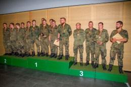 Die Gewinner des Mannschaftswettbewerbs bei der Siegerehrung.