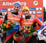 Stabsunteroffizier Toni Eggert (l.) und Sascha Benecken.