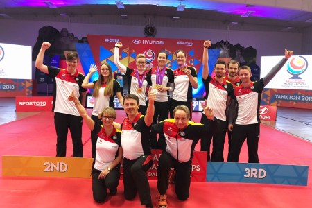 Zweimal WM-Gold durch Bogenmannschaft und Elena Richter