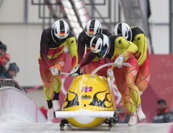 Goldregen für die deutsche Bob-Mannschaft
