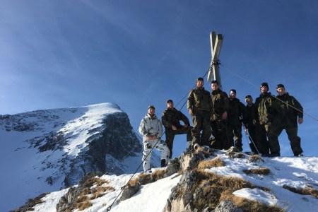 Wer führen will, muss können, was er verlangt! Studierende Offiziere legen skitechnische Basis für den Winterkampf