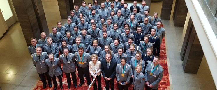 Danke für 52 Prozent aller deutschen Medaillen
