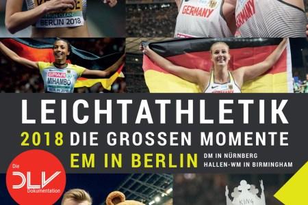 Der DLV-Bildband zu den Leichtathletik-Europameisterschaften 2018 in Berlin