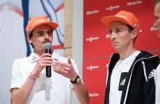 Richard Freitag und Eric Frenzel.