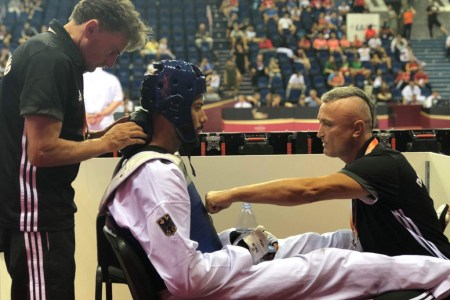 Das Taekwondo-Team geht mit Zuversicht und Teamgeist zur Weltmeisterschaft nach Manchester