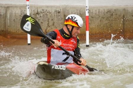 Kanu-Slalom: Vorbereitung auf ersten Weltcup