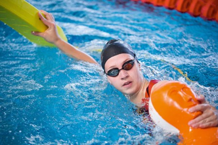 Erste Deutsche Einzelstrecken-Meisterschaft im Rettungsschwimmen in Magdeburg