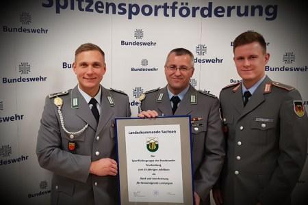 25 Jahre Sportfördergruppe der Bundeswehr Frankenberg – Felsenfest in erzgebirgscher Hand