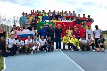 Trainingslager mit anschließendem Wettkampf der militärischen Fünfkämpfer in Brasilien