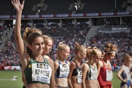 """""""Ich finde es immer schön im Deutschland-Trikot zu starten"""" – Im Blitzinterview mit der 3.000 Meter Hindernis-Europameisterin Gesa Felicitas Krause"""