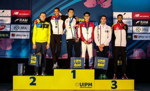 Tolles Ergebnis: Der 2. Platz von Marvin Dogue und einem hervorragendem 6. Platz für seinen Bruder Patrick Dogue für die deutschen Herren.