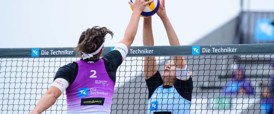 Ittlinger/Laboureur und Thole/Wickler sind die Deutschen Beach-Volleyball Champions 2020
