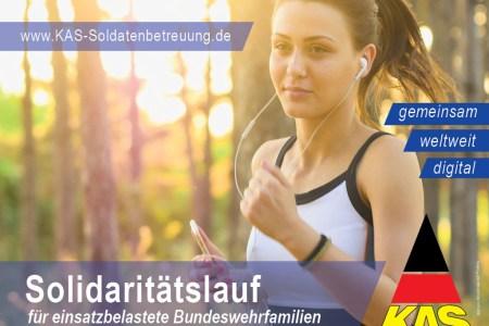 Gemeinsam Laufen für Bundeswehr-Familien: Solidaritätslauf für Eure Kameraden findet statt!