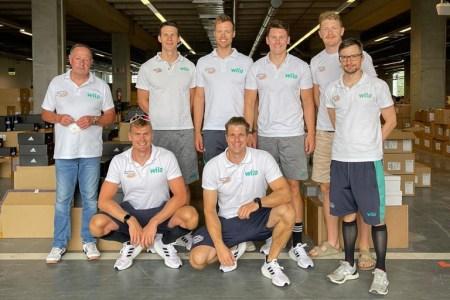 Team Deutschland-Achter reist ins Trainingslager nach Kinosaki