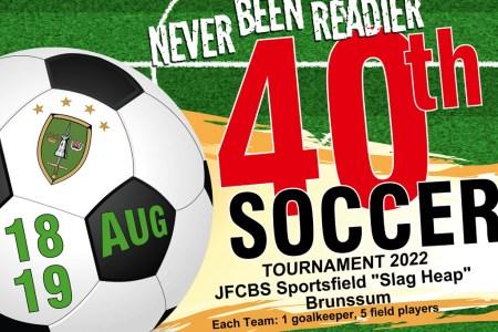 Aller guten Dinge sind drei – Vorankündigung 40. Internationales Kleinfeldfußballturnier in Brunssum