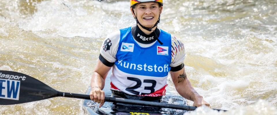 Gold, zweimal Silber und einmal Bronze beim Weltcup in Markkleeberg