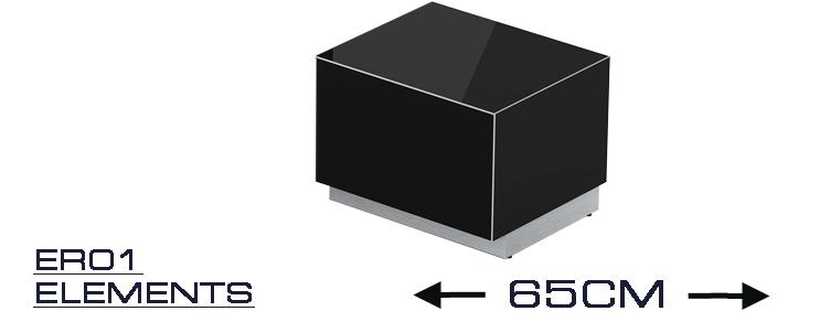 er 01 meuble tv longueur 65 cm