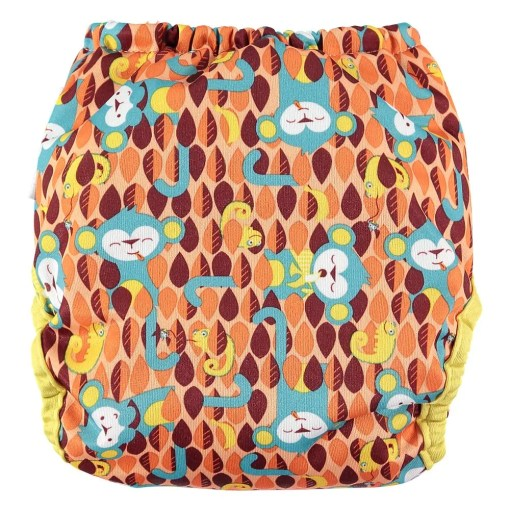 Rear view of Ticky Close Pop-in nappy