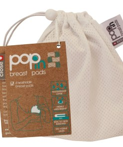Close Pop-in Breast Pads Mesh Bag and Card